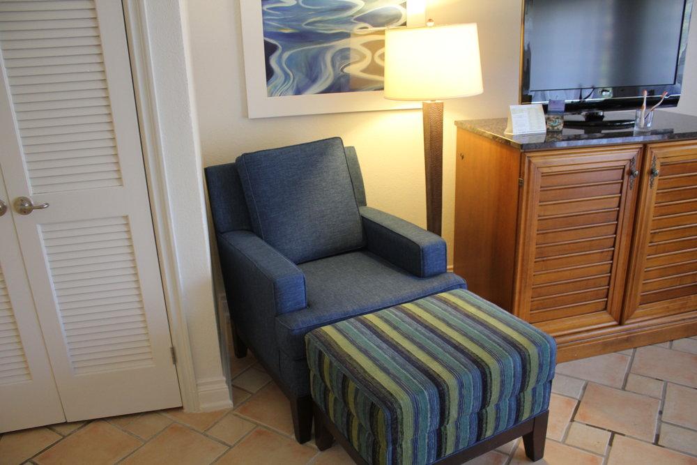 Marriott Resort St. Kitts – Lounge chair
