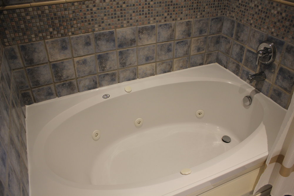 Marriott Resort St. Kitts – Bathtub with whirlpool jets