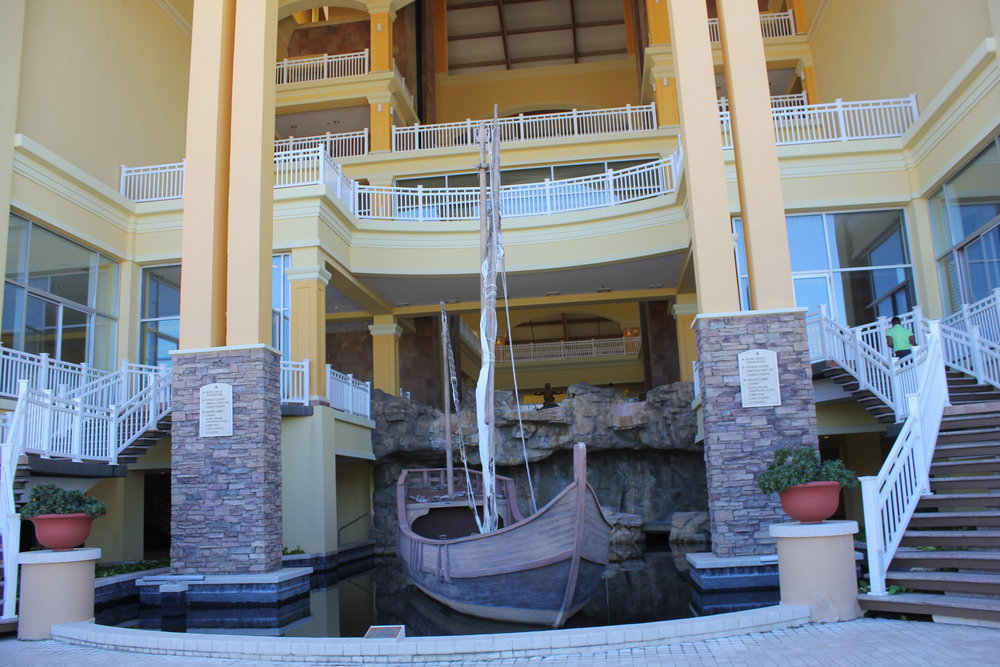 Marriott Resort St. Kitts – Ship facade