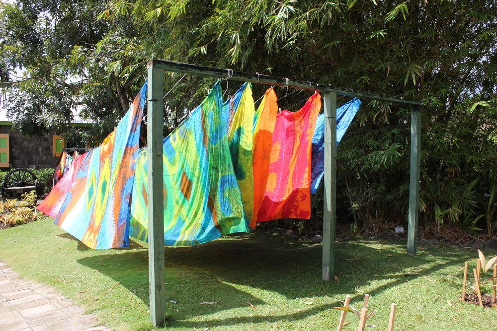 Romney Manor – Caribelle Batik display