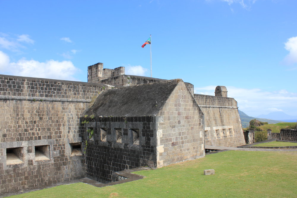 Brimstone Hill Fortress National Park – Fortress building