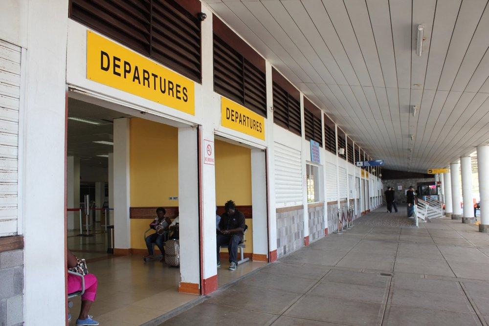 Robert L. Bradshaw International Airport, St. Kitts