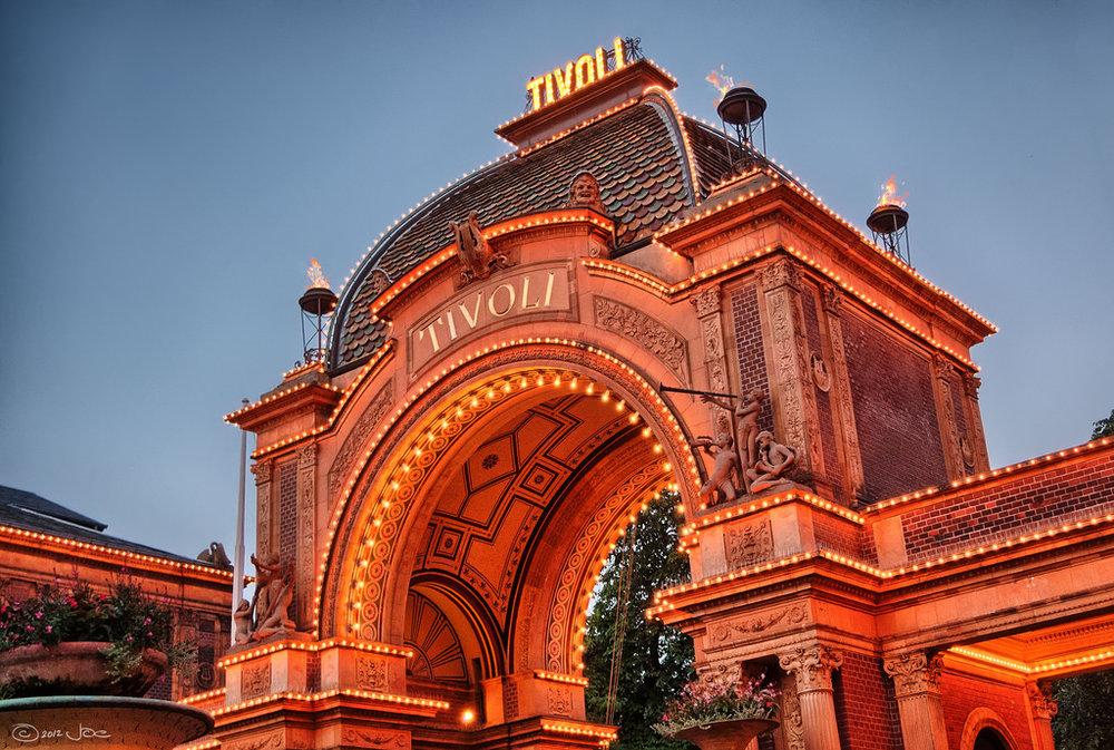 Tivoli – Entrance