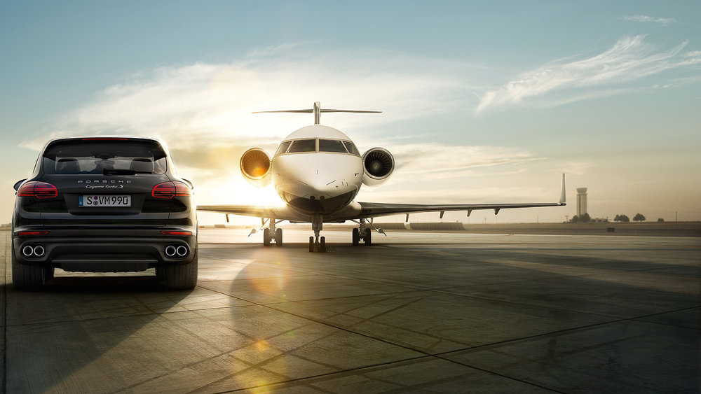 Get driven to your Lufthansa First Class flight in a Porsche – all for just 40,000 Starpoints!