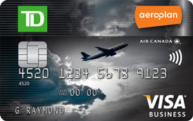 TD Aeroplan Visa Business Card | Prince of Travel | Miles & Points