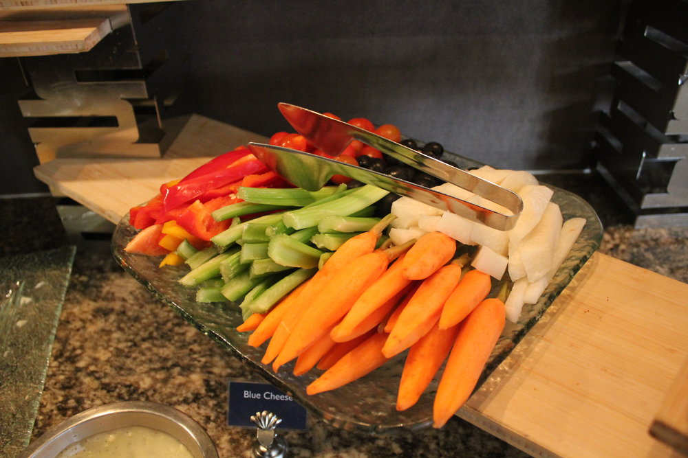 Sheraton Seattle – Sheraton Club Lounge evening hors d'oeuvres
