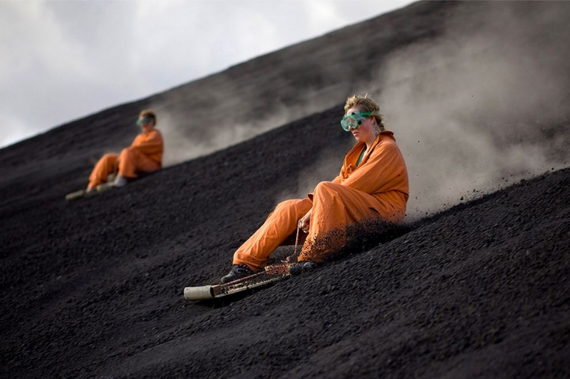 Volcano Boarding Cerro Negro Nicaragua | Prince of Travel | Travel Talk