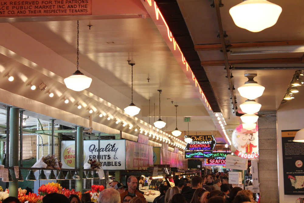Pike Place Market – Interior