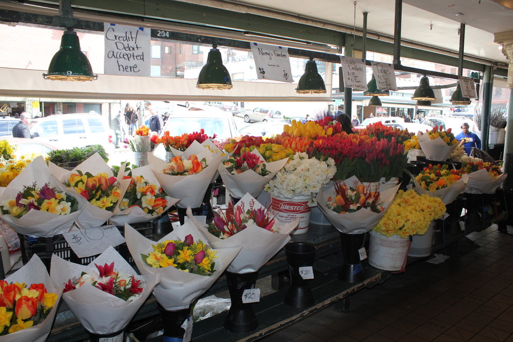 Pike Place Market – Flowers