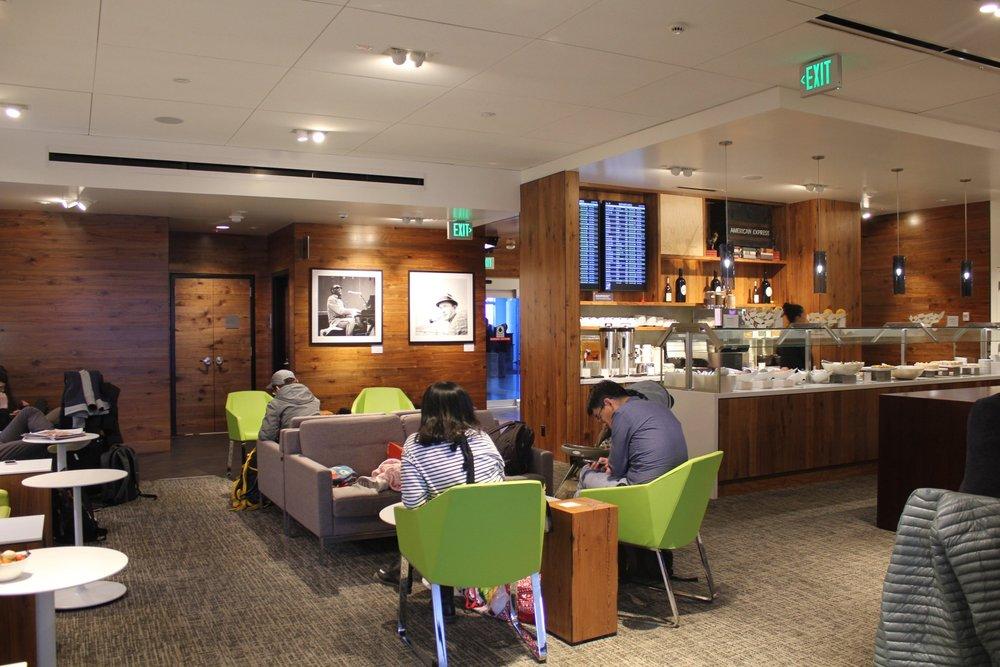 Centurion Lounge Seattle – Main seating area