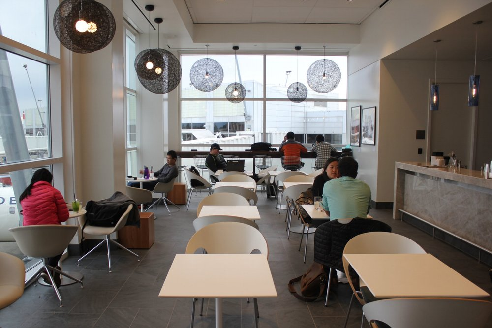 Centurion Lounge Seattle – Newly added seating area