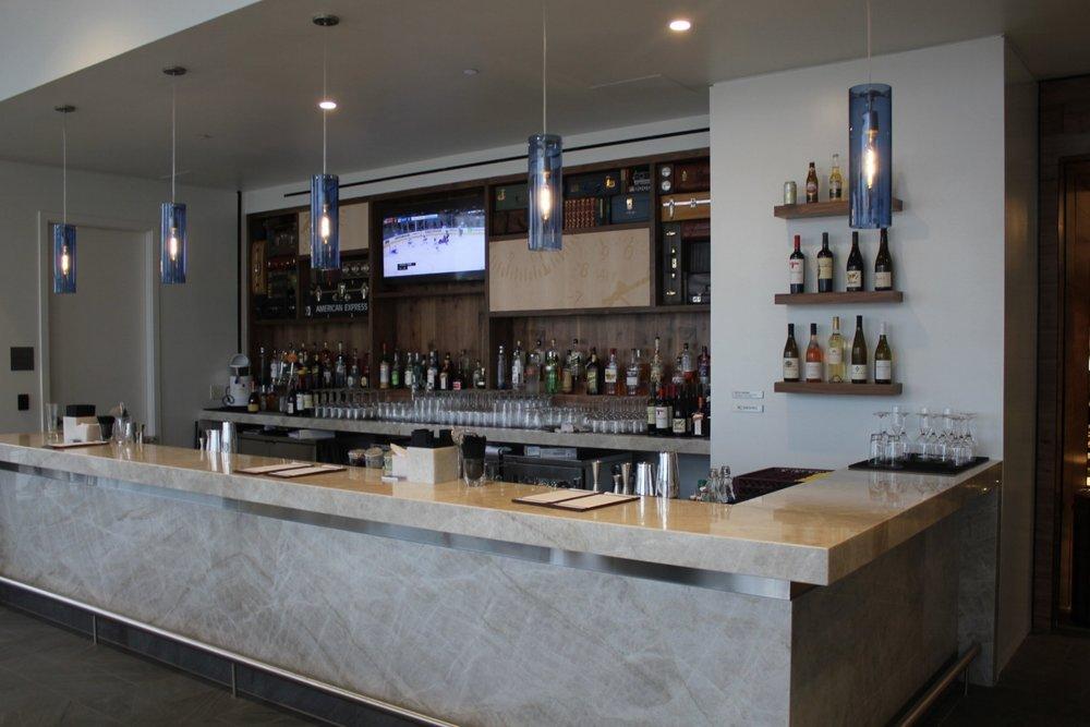 Centurion Lounge Seattle – Bar