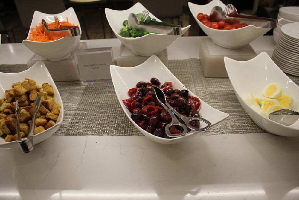 Centurion Lounge Seattle – Salad