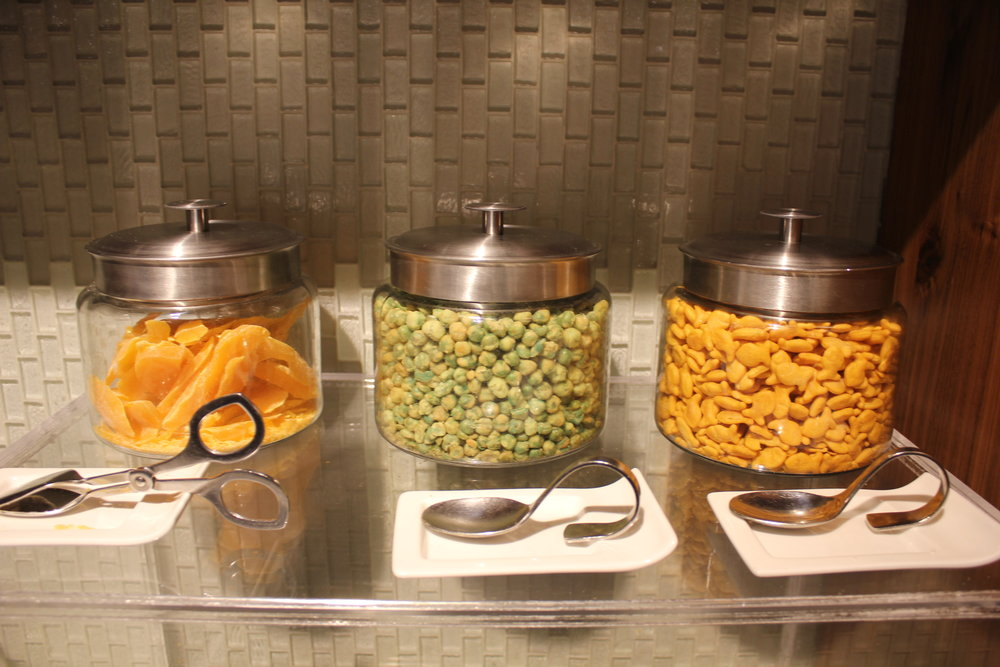 Centurion Lounge Seattle – Snacks