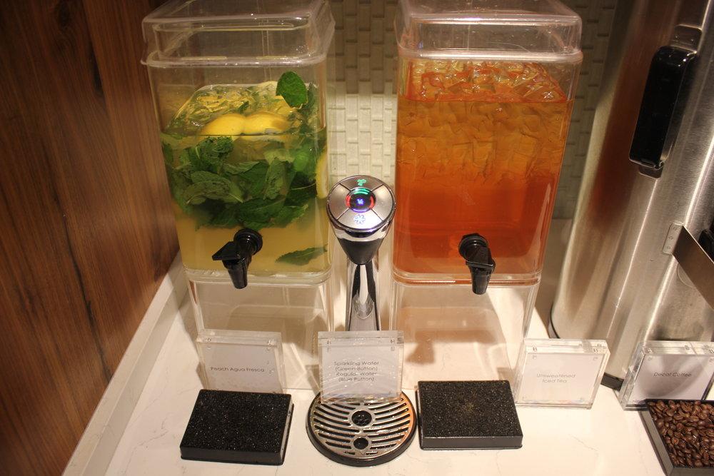 Centurion Lounge Seattle – Specialty drinks