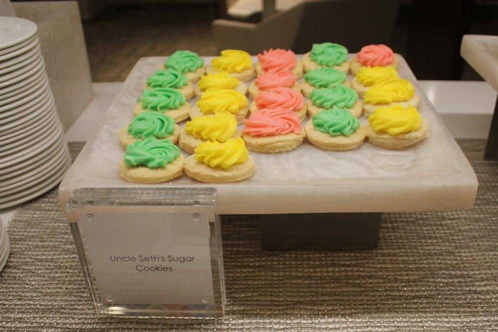 Centurion Lounge Seattle – Uncle Seth's Sugar Cookies