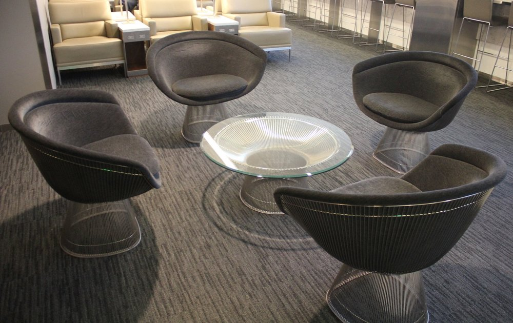 United Club Seattle – Coffee table