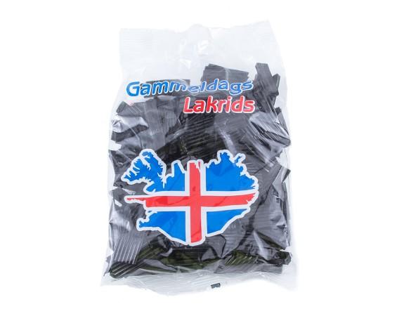 Icelandic liquorice