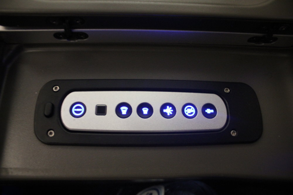 Brussels Airlines business class – Entertainment controller