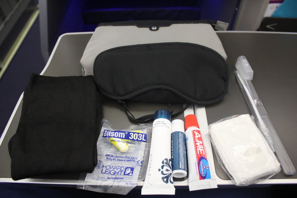 Brussels Airlines business class – Amenity kit