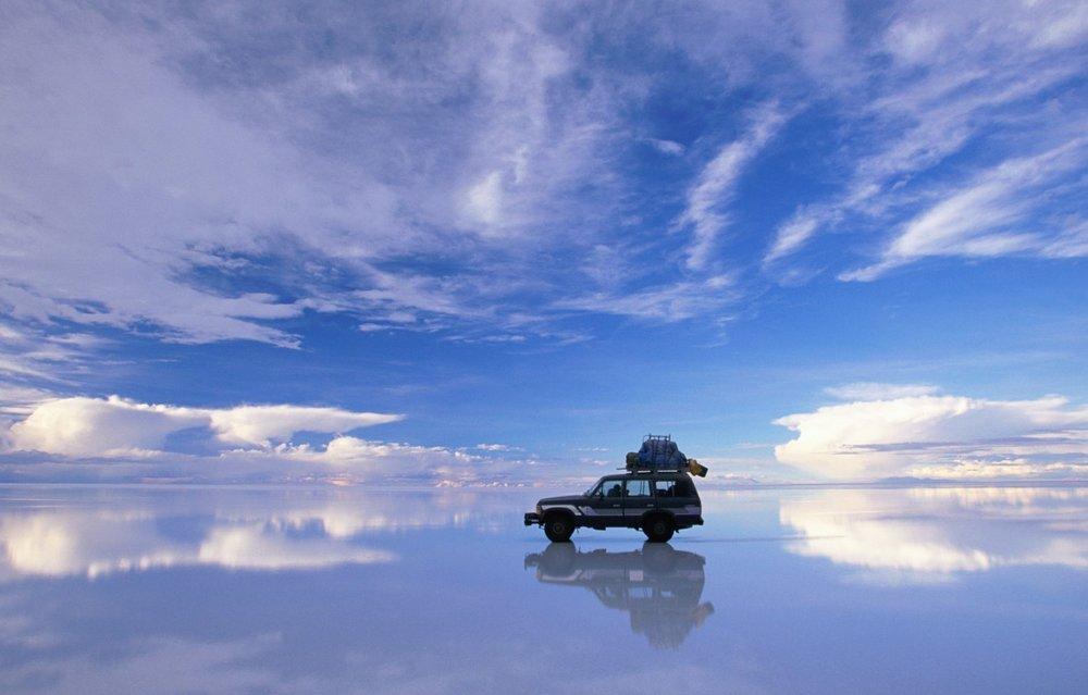Salar de Uyuni – Rainy day