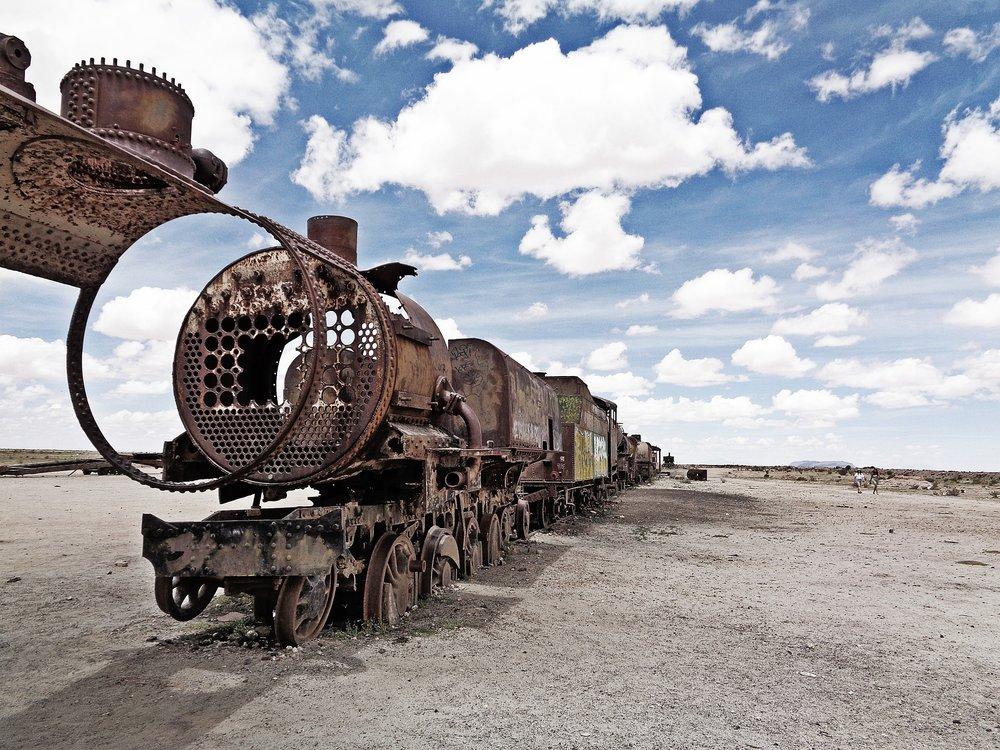 Salar de Uyuni – Train cemetery