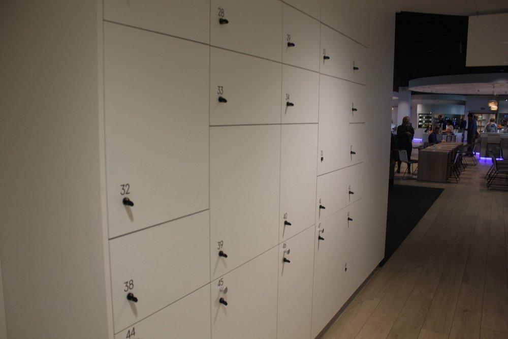 The Loft by Brussels Airlines – Lockers
