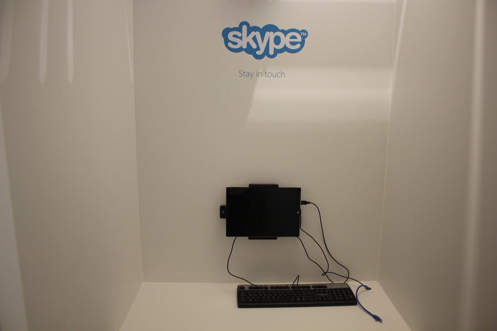 The Loft by Brussels Airlines – Skype booth