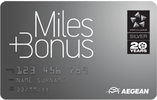 Aegean Airlines Miles+Bonus Silver Card | Prince of Travel | Miles & Points
