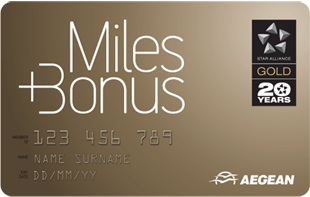 Aegean Airlines Miles+Bonus Gold Card | Prince of Travel | Miles & Points