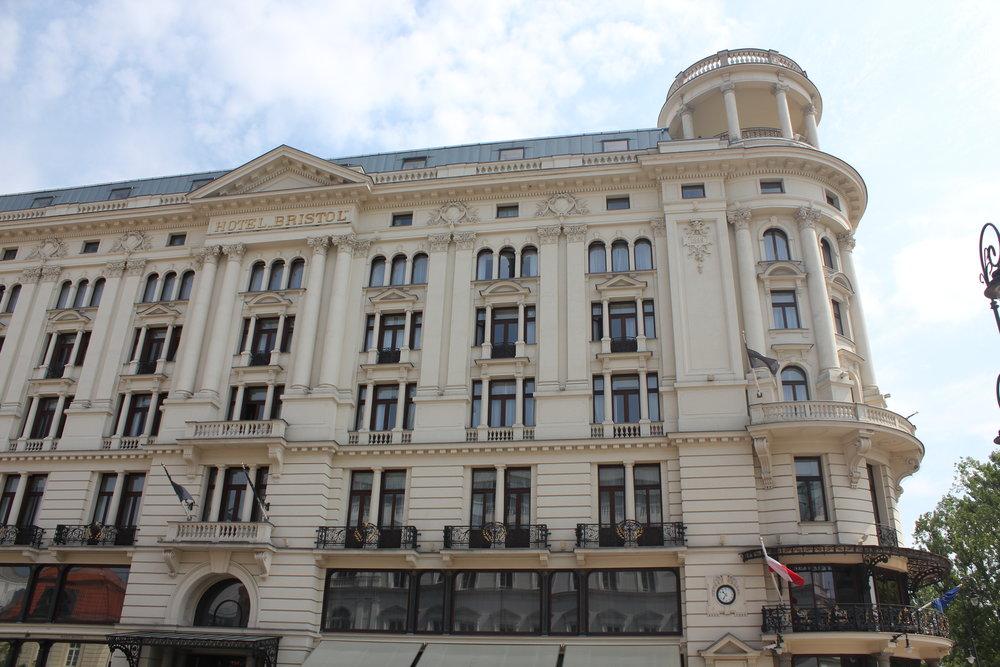 Hotel Bristol Warsaw – Exterior
