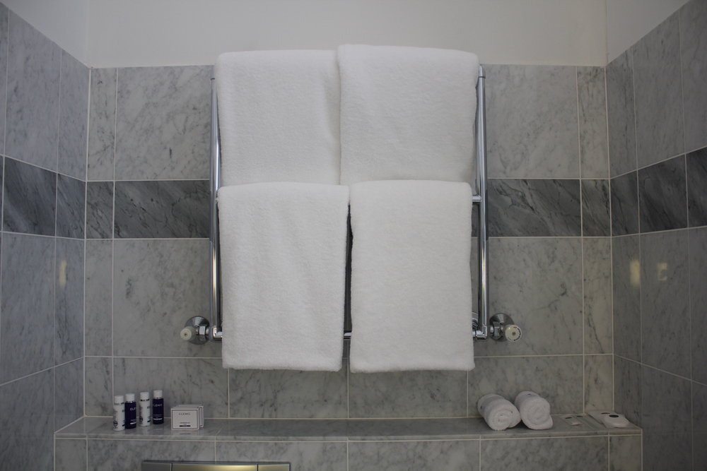 Hotel Bristol Warsaw – Towels and amenities
