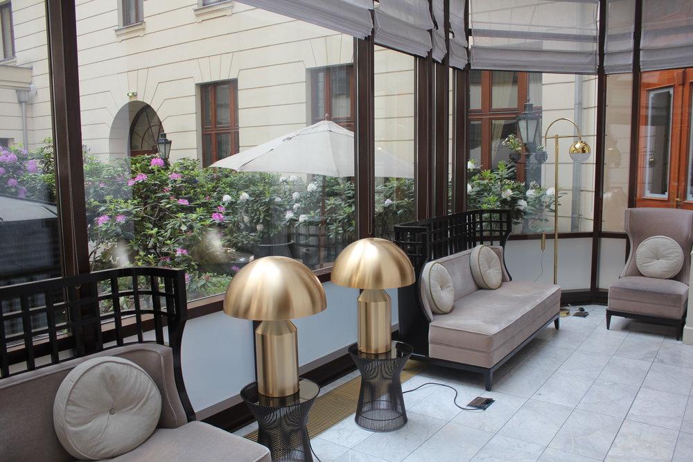 Hotel Bristol Warsaw – Sun room