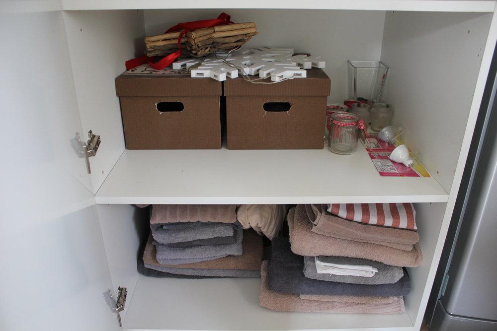 Apartament na Mariensztacie – Extra towels