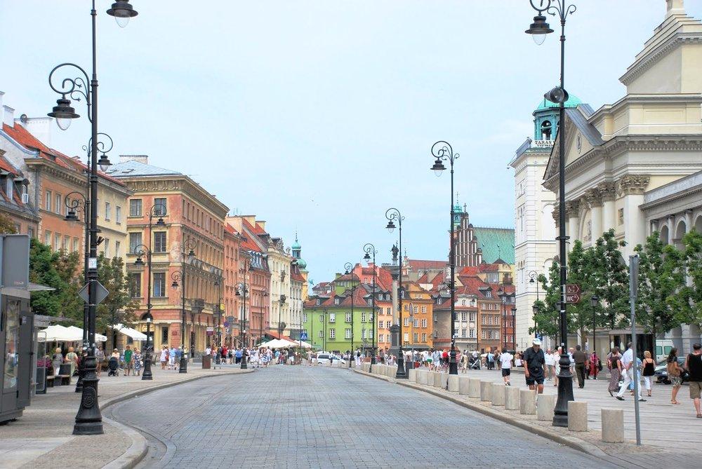 Warsaw – Krakowskie Przedmieście (Royal Route)