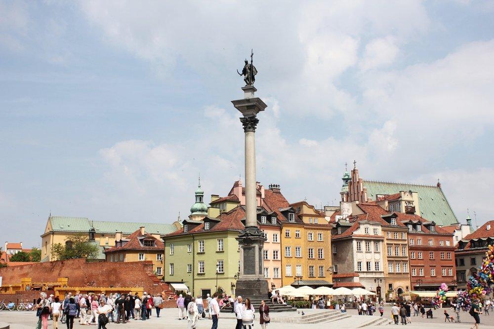 Warsaw – Sigismund's Column, Castle Square