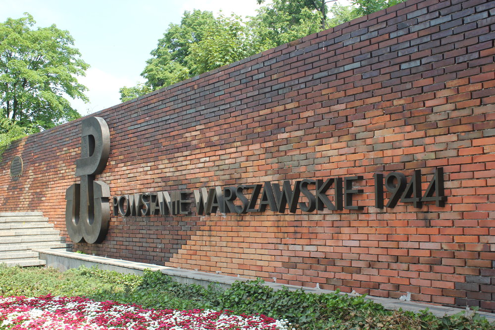 Warsaw – Warsaw Uprising symbol and memorial, Supreme Court of Poland