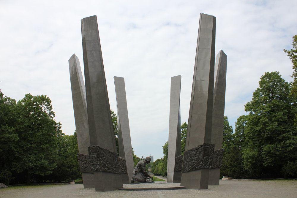 Warsaw – Monument to the rebuilding of the city