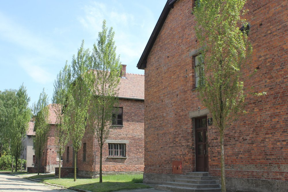 These barracks in Auschwitz I served various purposes, primarily housing the camp's prisoners.
