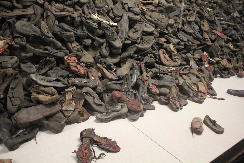 Victims' shoes