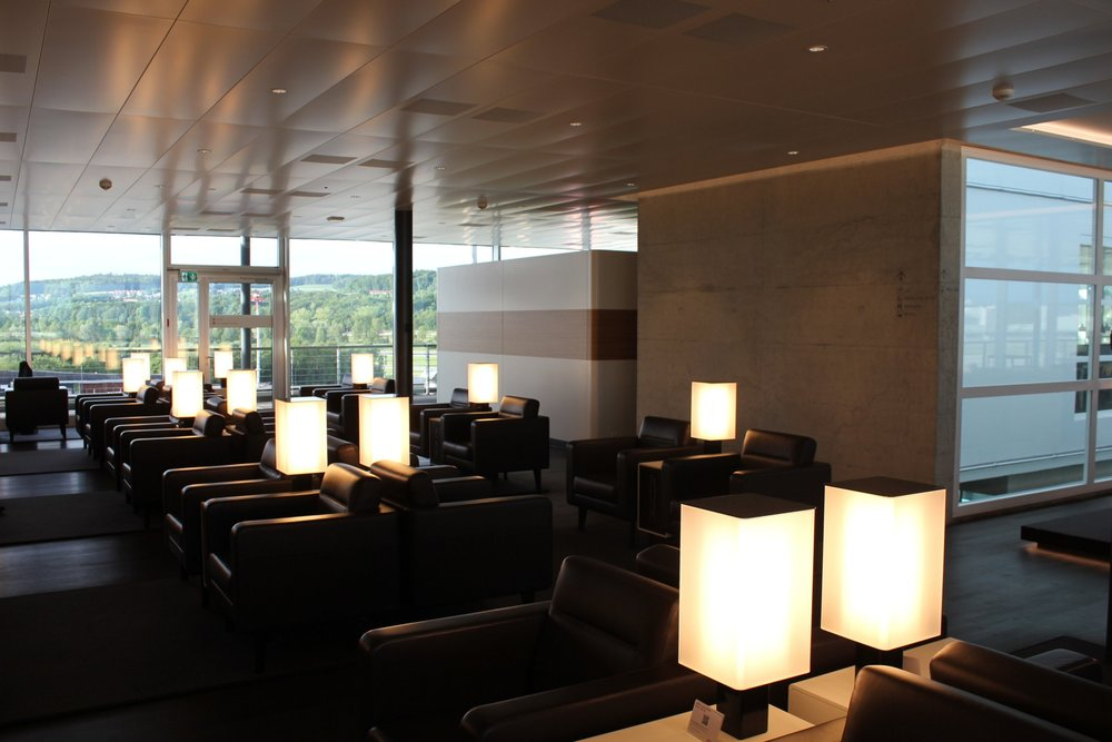 Swiss Senator Lounge Zurich – Seating area