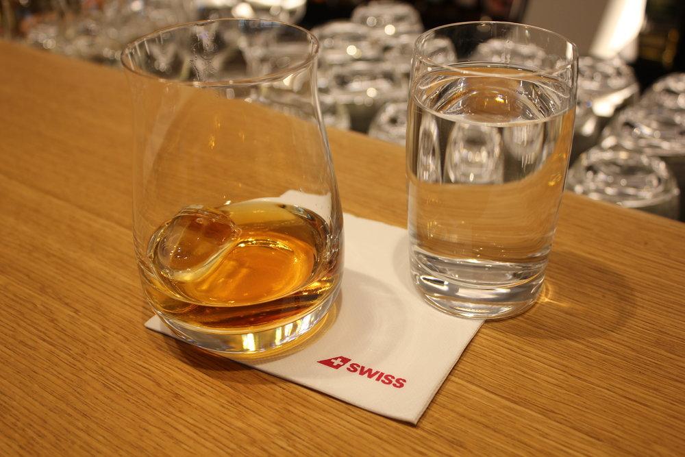 Swiss Senator Lounge Zurich – Amrut Cask Strength