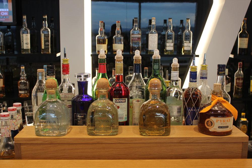 Swiss Senator Lounge Zurich – Whisky selection