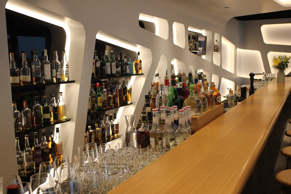 Swiss Senator Lounge Zurich – Whisky selection
