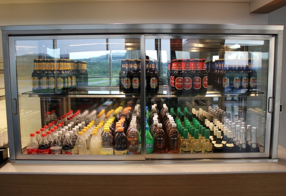 Swiss Business Lounge Zurich – Drinks