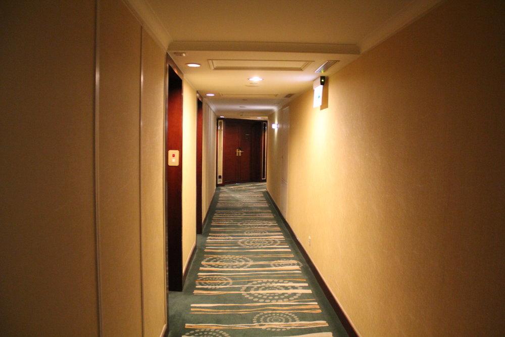 JW Marriott Hong Kong – Hallway
