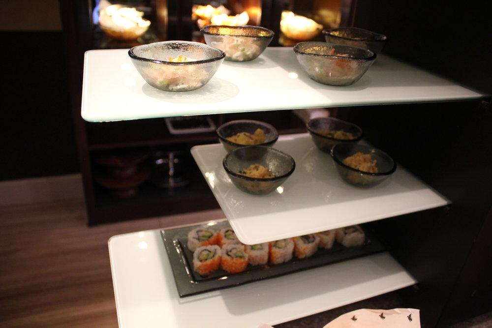 JW Marriott Hong Kong – Executive Lounge evening spread