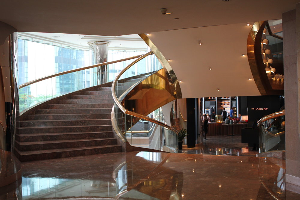 JW Marriott Hong Kong – The Lounge entrance
