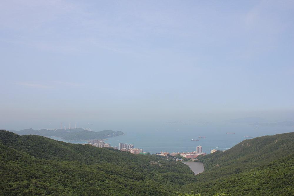 The Peak – View of Pok Fu Lam