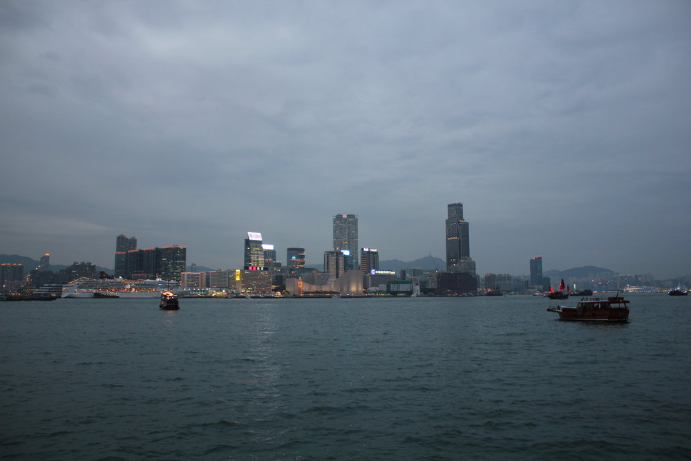 Victoria Harbour – View of Kowloon